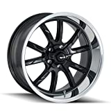 Ridler 650 Wheel with Machined Finish (20x10/5x127, 0mm Offset)