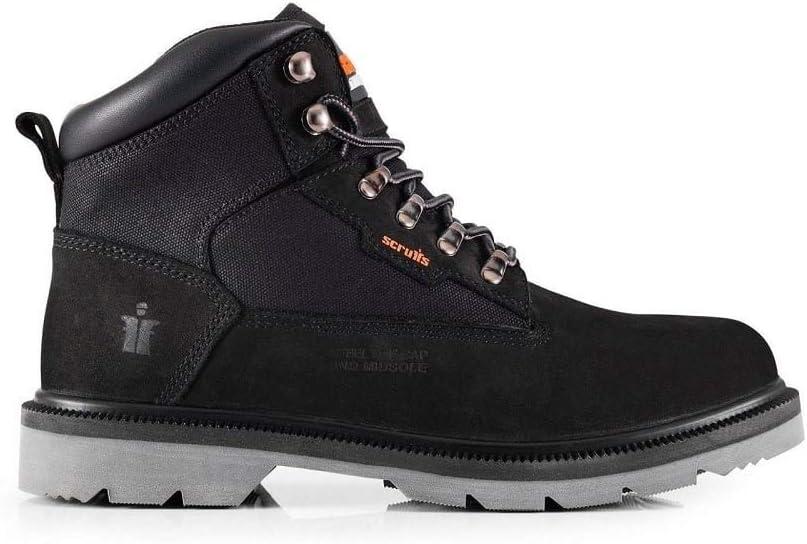 9 UK Black Scruffs T54324 Safety Footwear