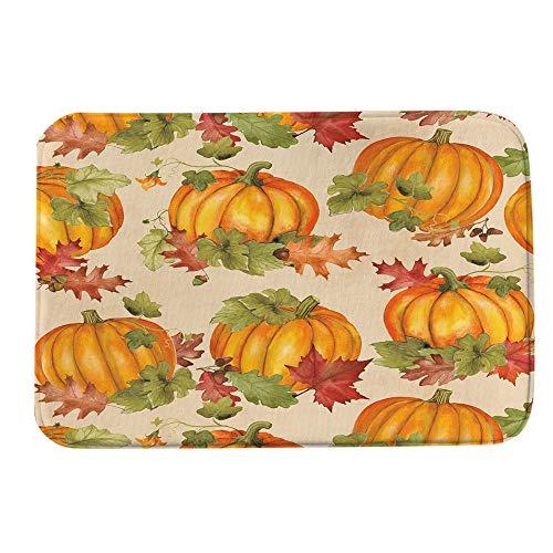 Halloween Floor Mats,Lovewe Halloween Pumpkin Welcome Doormats Indoor