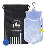 Enema Kit Silicone Bag | Home Coffee & Water Colon Cleansing Irrigation | Women Men Reusable Enema | Enema Bulb Douche