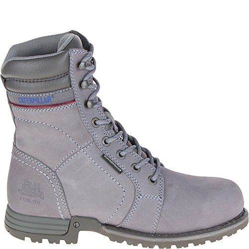 Caterpillar Women's Echo Waterproof Steel Toe Boot,Frost Grey,US 6.5 W
