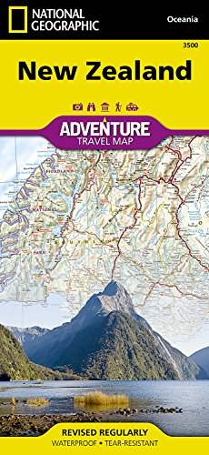 New Zealand (National Geographic Adventure Map) cover