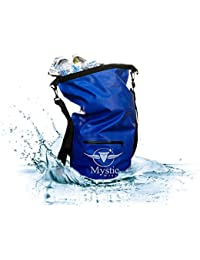 Waterproof Floating Backpack Dry Bag 20L - for Kayaking, Boating, Hiking, Rafting, and Fishing, and the Beach, also great for a Traveling Vacation Go Bag