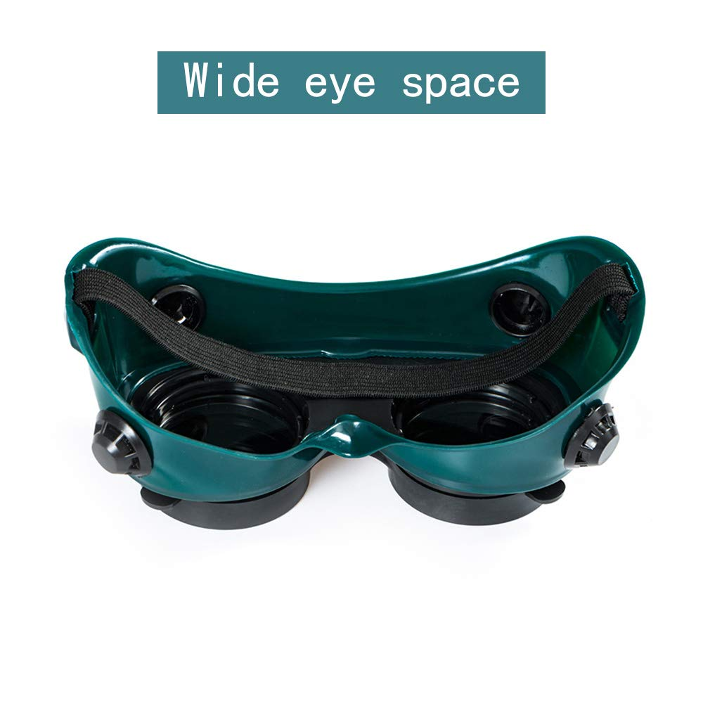 Cutting Grinding Welding Goggles With Flip Up Glasses Welder   NP