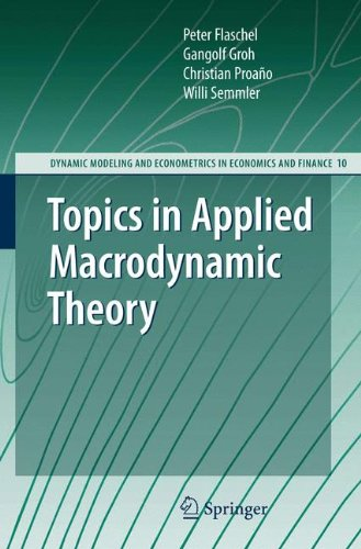 Topics in Applied Macrodynamic Theory (Dynamic Modeling and Econometrics in Economics and Finance)