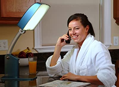 Carex Day-Light Sky Bright Light Therapy Lamp - 10,000 LUX - Sun Lamp To Combat Winter Blues and To Increase Your Energy