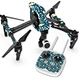 Skin For DJI Inspire 1 Quadcopter Drone – Deco Fish | MightySkins Protective, Durable, and Unique Vinyl Decal wrap cover | Easy To Apply, Remove, and Change Styles | Made in the USA