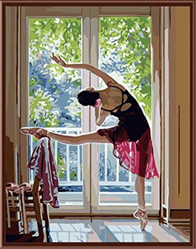 New Release Ballet Queen Dancer Paint by Number Kits for Adults - 16 by 20 inch (Without Frame)