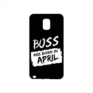 Fmstyles - Samsung Note 4 Mobile Case - Boss Are Born In April