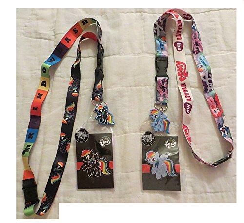 My Little Pony Rainbow Dash Breakaway Lanyard Set - ID Badge Holder -