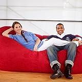 Bean Bag Sofa Color: Cinnabar