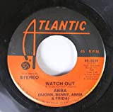 ABBA 45 RPM Watch Out / Waterloo