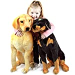 VIAHART Robbie The Rottweiler | 26 Inch Tall Stuffed Animal Plush Dog | Shipping from Texas | by Tiger Tale Toys 10