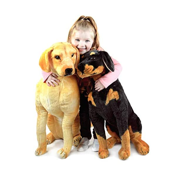 VIAHART Robbie The Rottweiler | 26 Inch Tall Stuffed Animal Plush Dog | Shipping from Texas | by Tiger Tale Toys 5