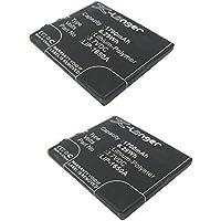 2x 3.7V Battery Fits FreedomPop Mobile 4G Hotspot, Spot Photon Platinum Edition