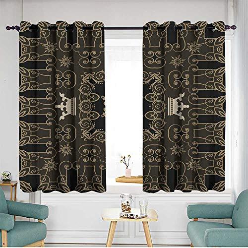 home1love Home Curtains W 63