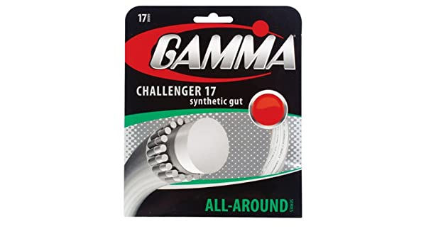 Amazon com : Gamma Challenger Synthetic Gut Tennis String