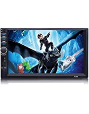 Universal Cassette 7.2 inch Touch, Android Phone Viewer & Player and Controller on the DVD Screen Model -HSH7018L