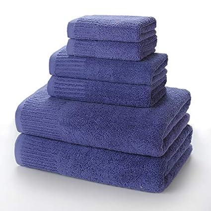 Commencer Juego de Toallas Premium de 6 Piezas – 2 Toallas de baño, 2 Toallas