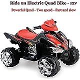 Predatour 9917BK 12 V Electric Battery Powered Kids Quad Bike