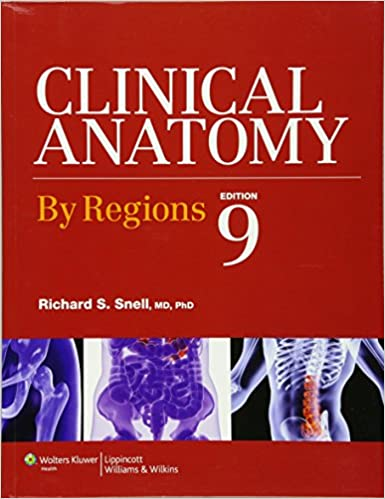 Clinical Anatomy by Regions: 9781451110326: Medicine & Health ...