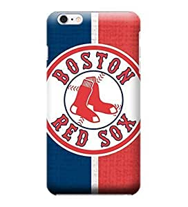 JIDANBING Phone Protective Covers,MLB-Boston Red Sox Skin Slim Case Covers Compatible For iphone 6 plus(5.5)