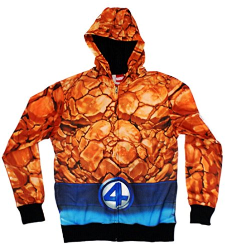 Fantastic Four The Thing Sublimated Costume Hoodie -
