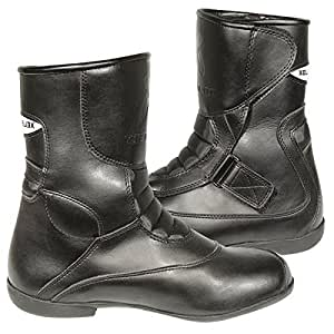 Xelement Mens XM-S30 Black Leather Racing Boot - 10 1/2