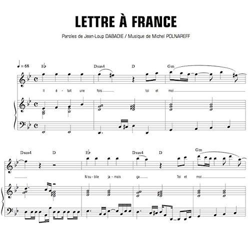 lettre a france Amazon.fr   LETTRE A FRANCE   Michel POLNAREFF   Livres lettre a france
