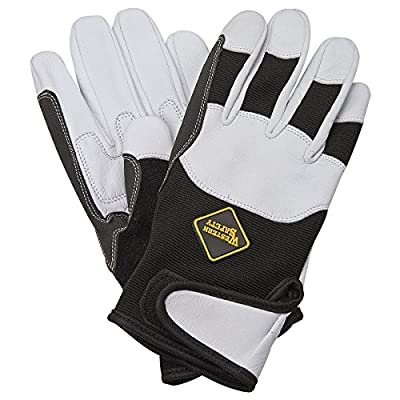 Goatskin Riding Work Gloves Small