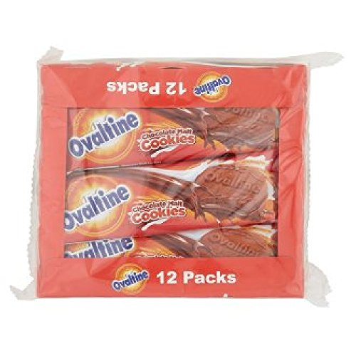 Ovaltine Chocolate Malt Cookies 12pcs x 30g (628MART) (12 Pack)