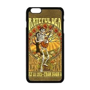 Happy Grateful Dead Fashion Comstom Plastic case cover for iphone 5c