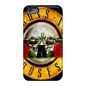 Excellent Cell-phone Hard Cover For Apple Iphone 6 Plus With Allow Personal Design Fashion Guns N Roses Series ErleneRobinson