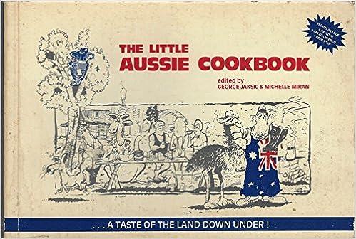 Book The Little Aussie Cookbook