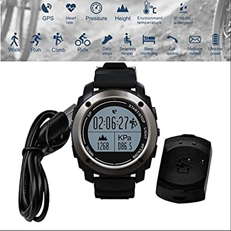 GPS Running Reloj de pulsera, Smart Watch Fitness Tracker ...