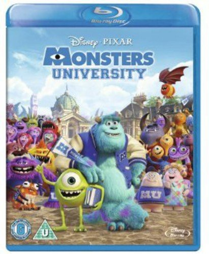 Monsters University [Blu-ray] [Region Free] [UK Import] (Monsters Inc And Monsters University Blu Ray)