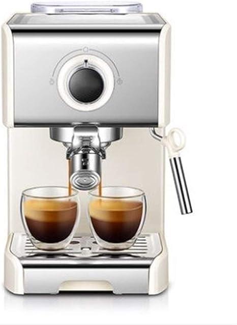 YUANYUAN520 Włoski Ekspres Do Kawy 20Bar Pompy Ekspres Do Kawy Półautomatyczne Kawiarka Do Espresso Domu Kawy Fabricante Handlowe Spieniacz Do Mleka (Kolor : White): Amazon.es: Hogar