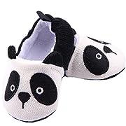 xhorizon TM FLK Toddler Unisex Baby Soft Cute Panda Design Toddler Casual Shoes