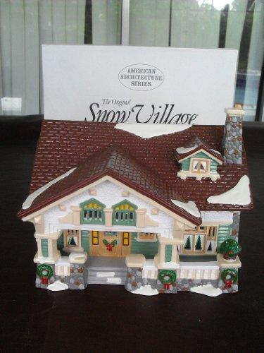 Retired Dept 56 Snow Village - Craftsman Cottage - Mint in BOX MIB