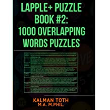 Lapple+ Puzzle Book #2: 1000 Overlapping Words Puzzles (LAPPLE+ IQ BOOST)