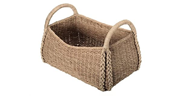 Nice Amazon.com: Extra Large Decorative Storage Basket In Seagrass: Home U0026  Kitchen