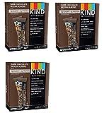 KIND Bars, Dark Chocolate Mocha Almond, Gluten Free, Low Sugar, 1.4oz, 36 Bars