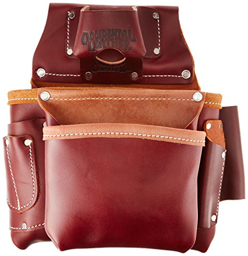 Occidental Leather 5061 2 Pouch Pro Fastener Bag by Occidental Leather