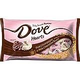 Dove Valentine's Day Pink Champagne & Milk Chocolate Swirl Hearts - 7.94oz