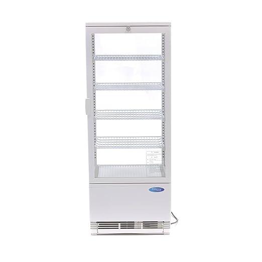 Nevera vitrina 98L Color Blanco: Amazon.es: Industria, empresas y ...