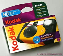 Kodak 35mm Single Use Camera w/ Flash (Packaging May Vary) Model: 8737553 (Electronics Consumer Store)