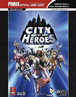 City of heroes binder (prima official game guide): eric mylonas.