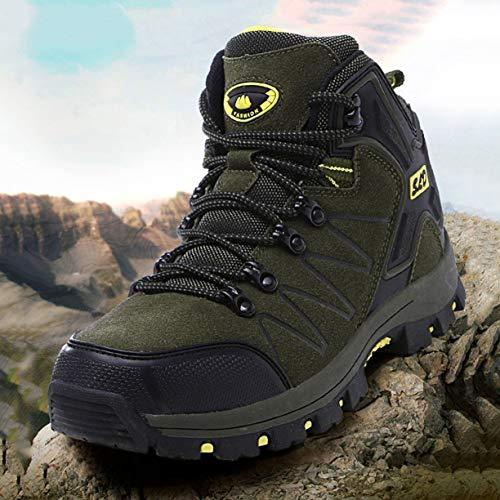 Scarpe Montagna Sportive Scarpe Donna Scarpe da da Antiscivolo Pelle per l'alpinismo Trekking in Le per da Impermeabili S17wW75qP