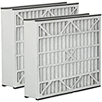 Trion Air Bear 259112-102 & 255649-102 20x25x5 Merv 13 Replacement Air Filter (2 Pack)