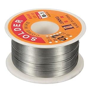 Focalwanna 100g 0.7mm 60/40 Tin Lead Soldering Wire Reel Solder Rosin Core